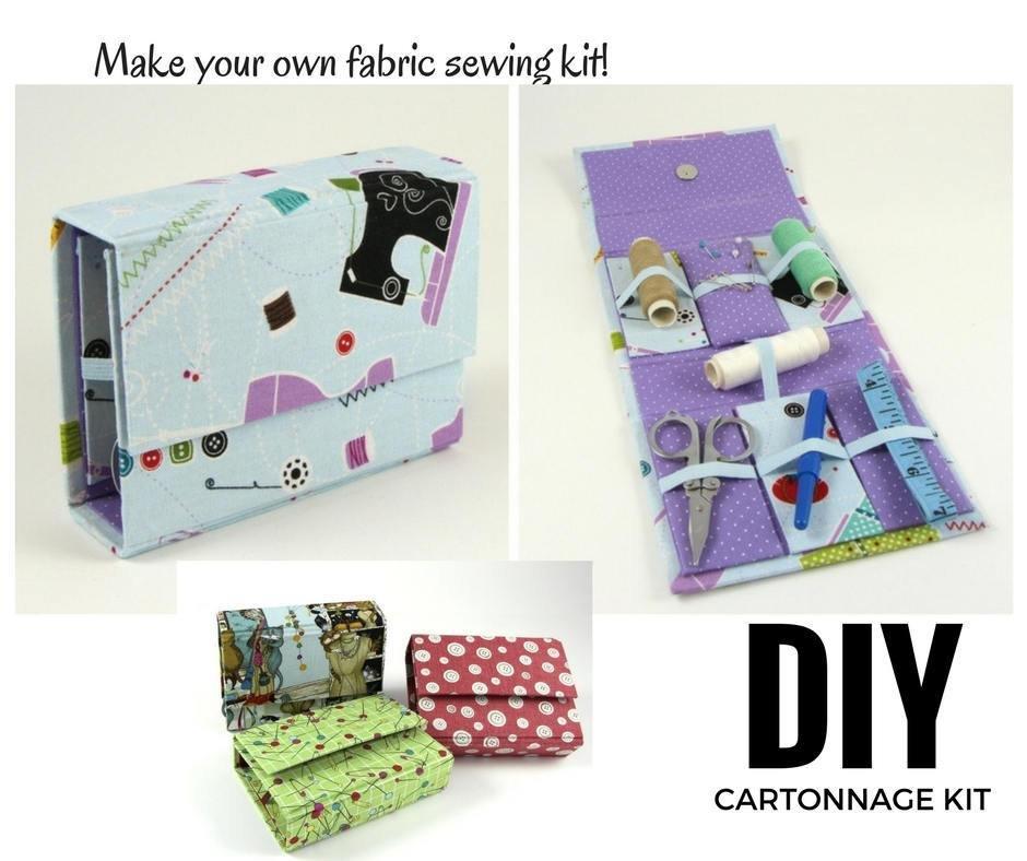 Cartonnage Kit #110  Sewing Kit