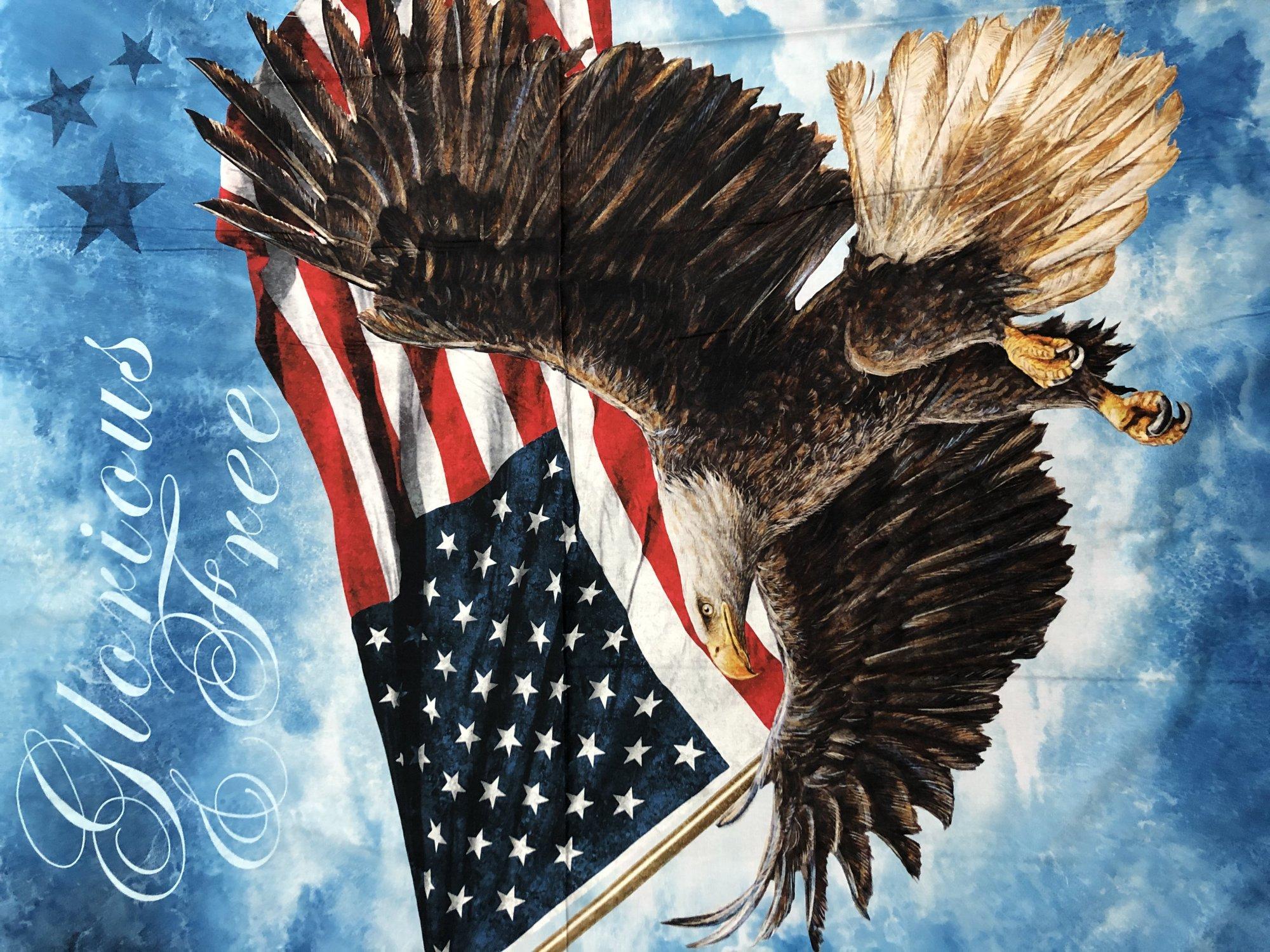 Eagle w/Writing Panel