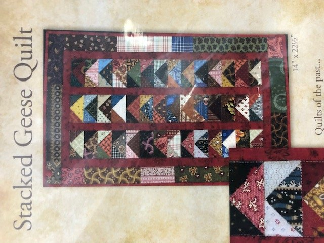 Stacked Geese Quilt