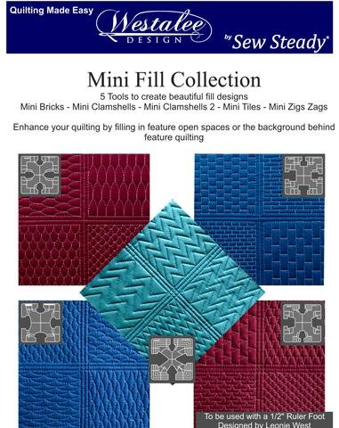 Mini Fill Template Set (High Shank)