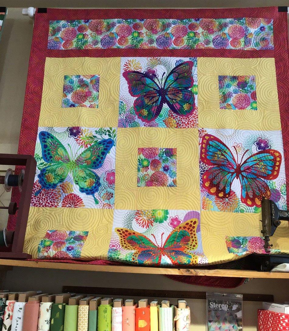 Butterfly Garden 54x73