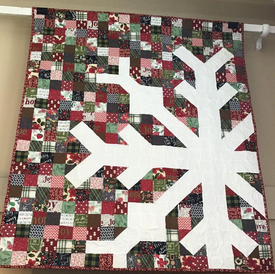 Snowflake 40x48