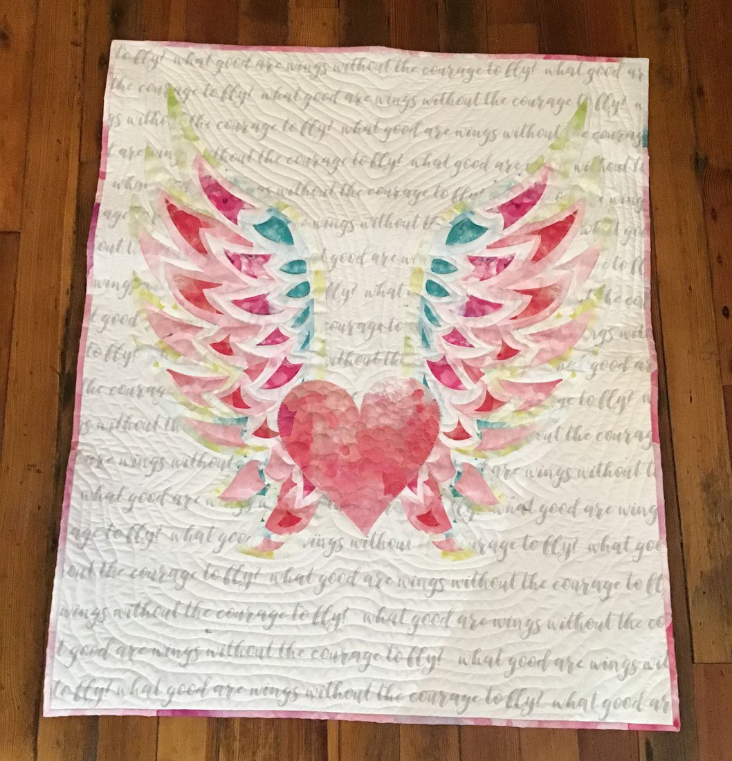 Baby Quilt - Wing Kit