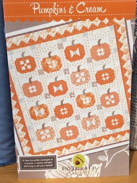 Pumpkins & Cream Pattern