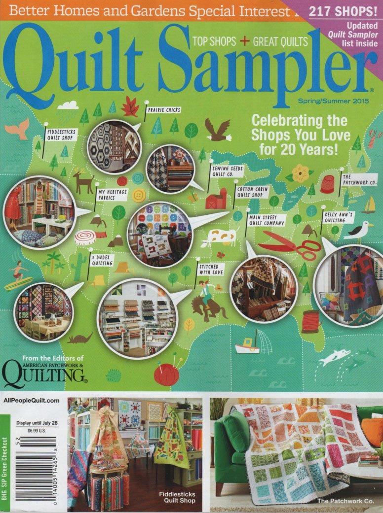 Quilt Sampler Spring/Summer 2015