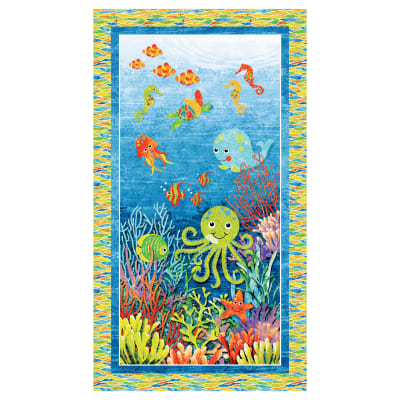 3D Under the Sea Panel