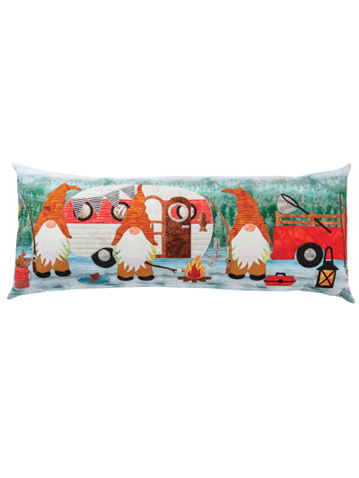 Gnome is where you park it Bench Pillow- Pattern Only
