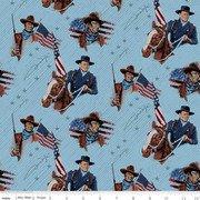 John Wayne Americana Main Blue
