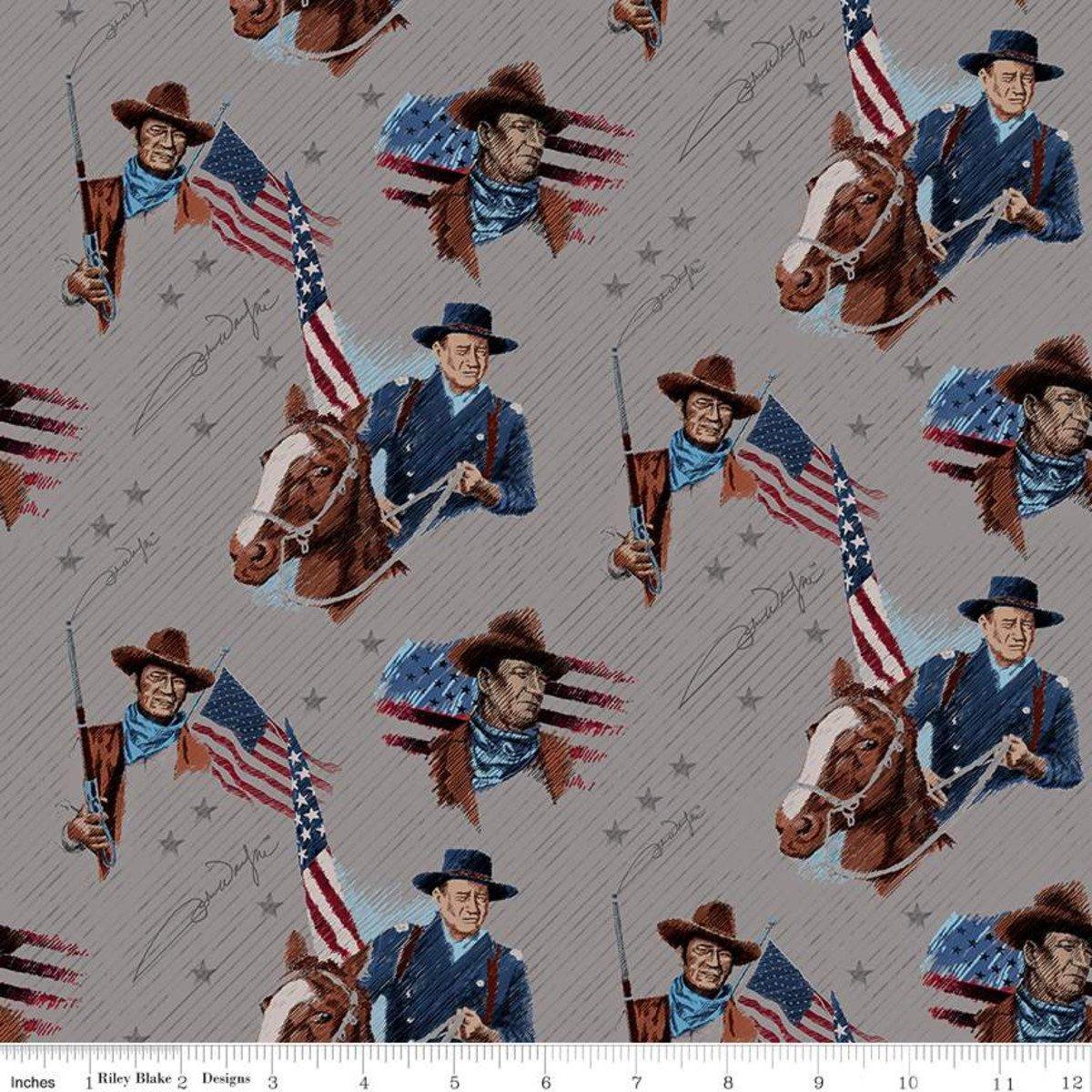 John Wayne Americana Main Gray