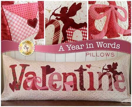 A Year in Words Valentine Pillow
