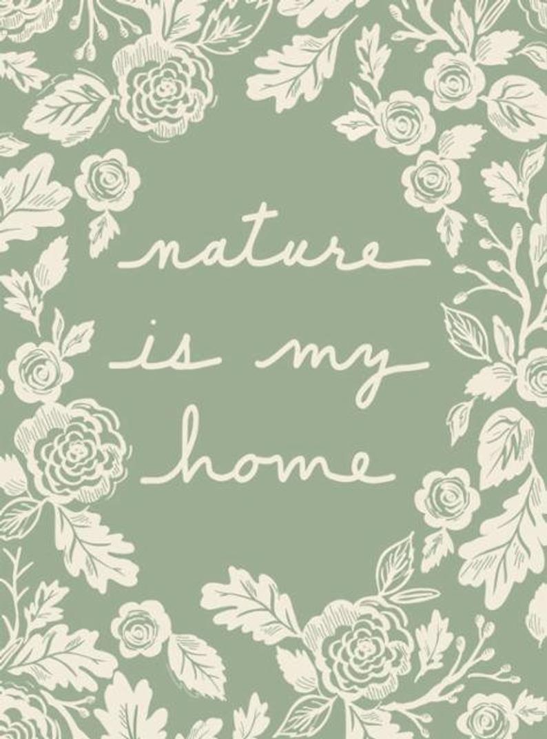 Nature Quilt Panel