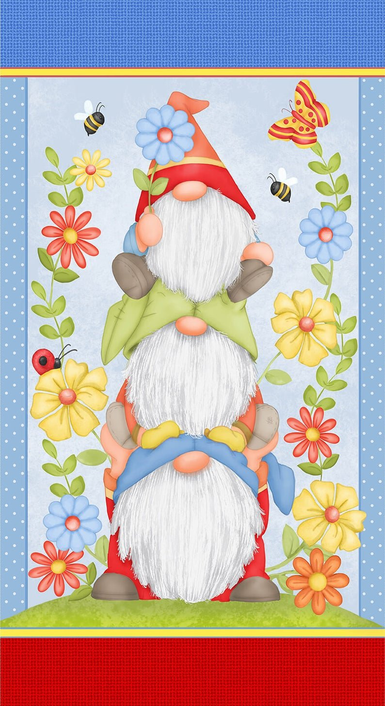 Gnome is where the Garden is- Panel