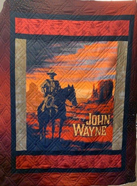 John Wayne Quilt Kit