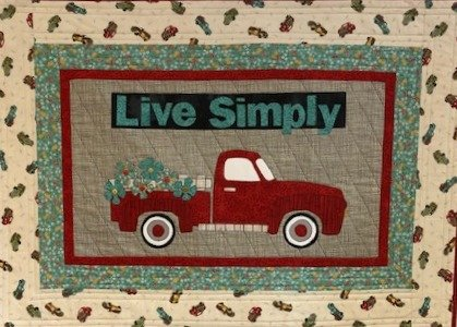 Live Simply Wallhanging