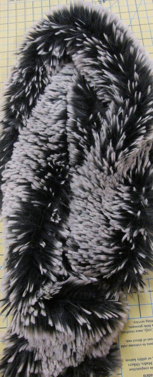 Scarf Fabric - Black