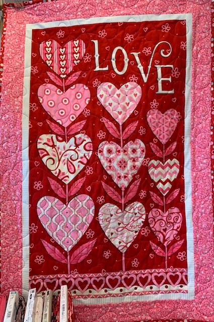Love Grows Wallhanging