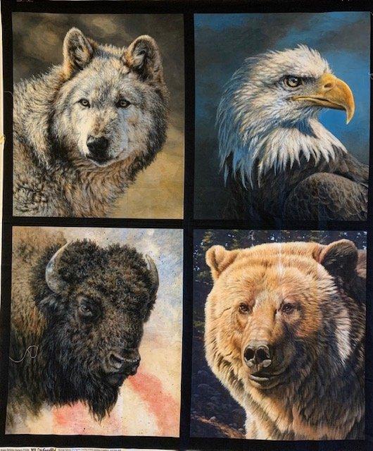 4 Wildlife Panel