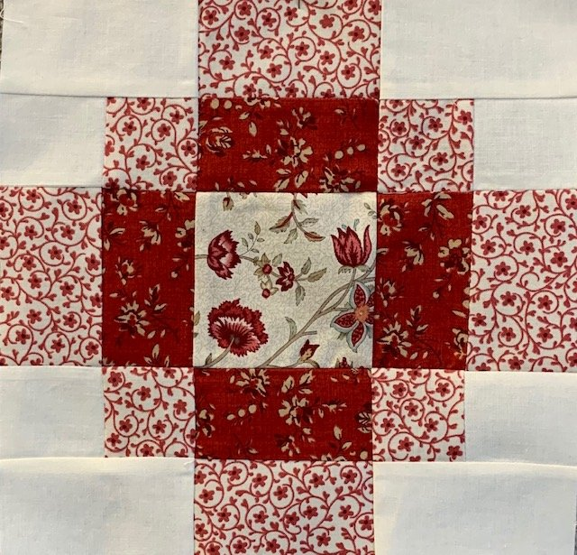 Pieced Red- January