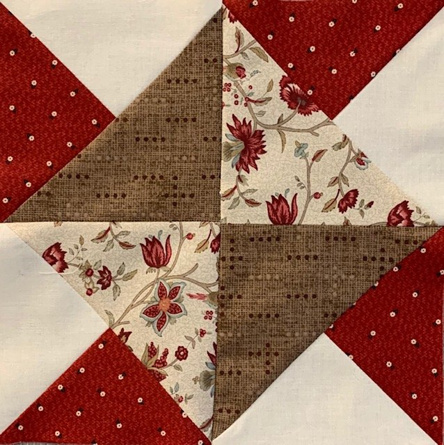 Pieced Red- February