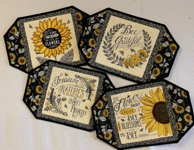 Bee Grateful Placemats