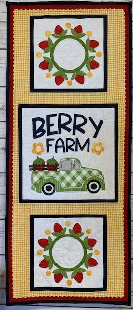 Berry Farm Truck Wallhanging