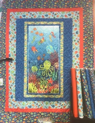 3D Under the Sea Quilt