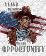 John Wayne Americana Panel