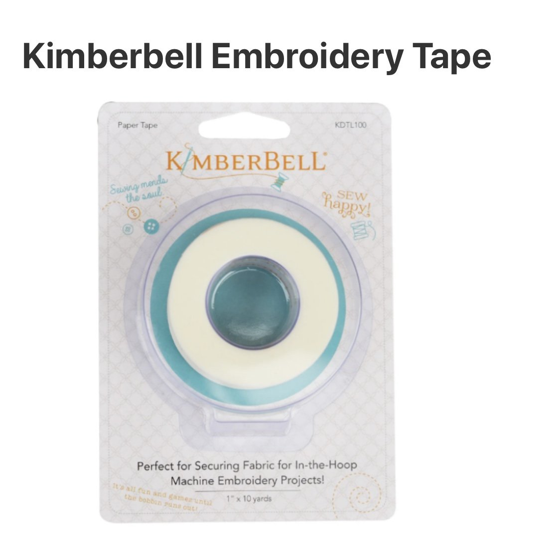 Kimberbell Embroidery Paper Tape