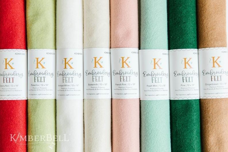 Kimberbell Wool Felt 12 X 18 (Buttermilk)