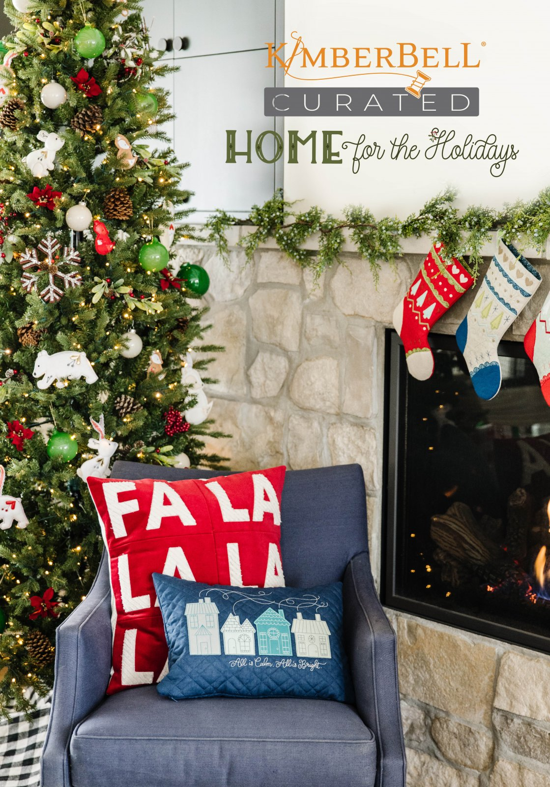 Kimberbell Curated Home for the Holidays Embroidery Design Collection