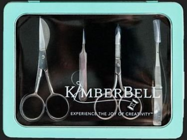 Kimberbell Deluxe Embroidery Tool and Scissor Set