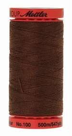 Mettler All Purpose Poly Thread: Apple Seed (brown), 1 Large Spool (9145-0975)