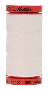 Mettler All Purpose Poly Thread: White, 1 Large Spool (9145-2000)