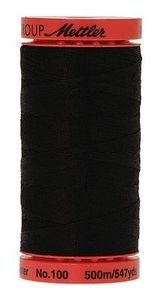 Mettler All Purpose Poly Thread: Black, 1 Large Spool (9145-4000)