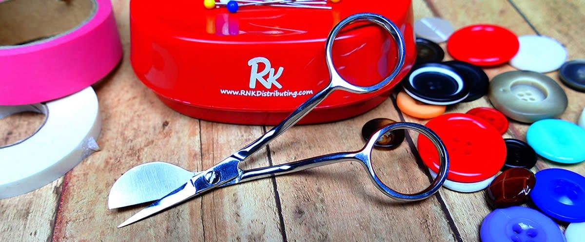 RNK Scissors Micro Duckbill Applique Scissors