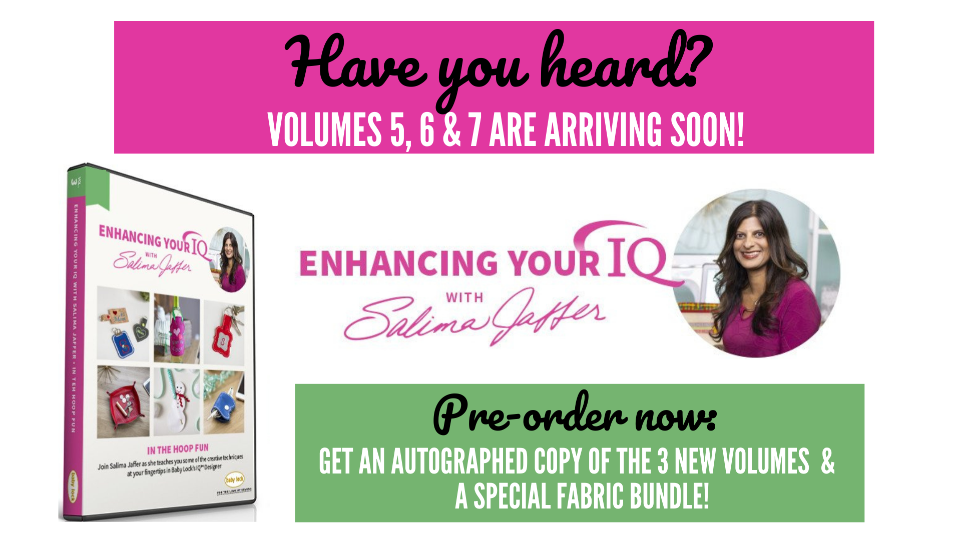 Preorder: Enhancing Your IQ By Salima Jaffer Special Bundle (Volumes 5, 6 & 7)