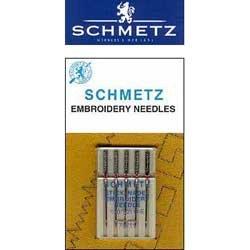 Schmetz Embroidery Needles 90/14: 1 Pack of 5 Needles