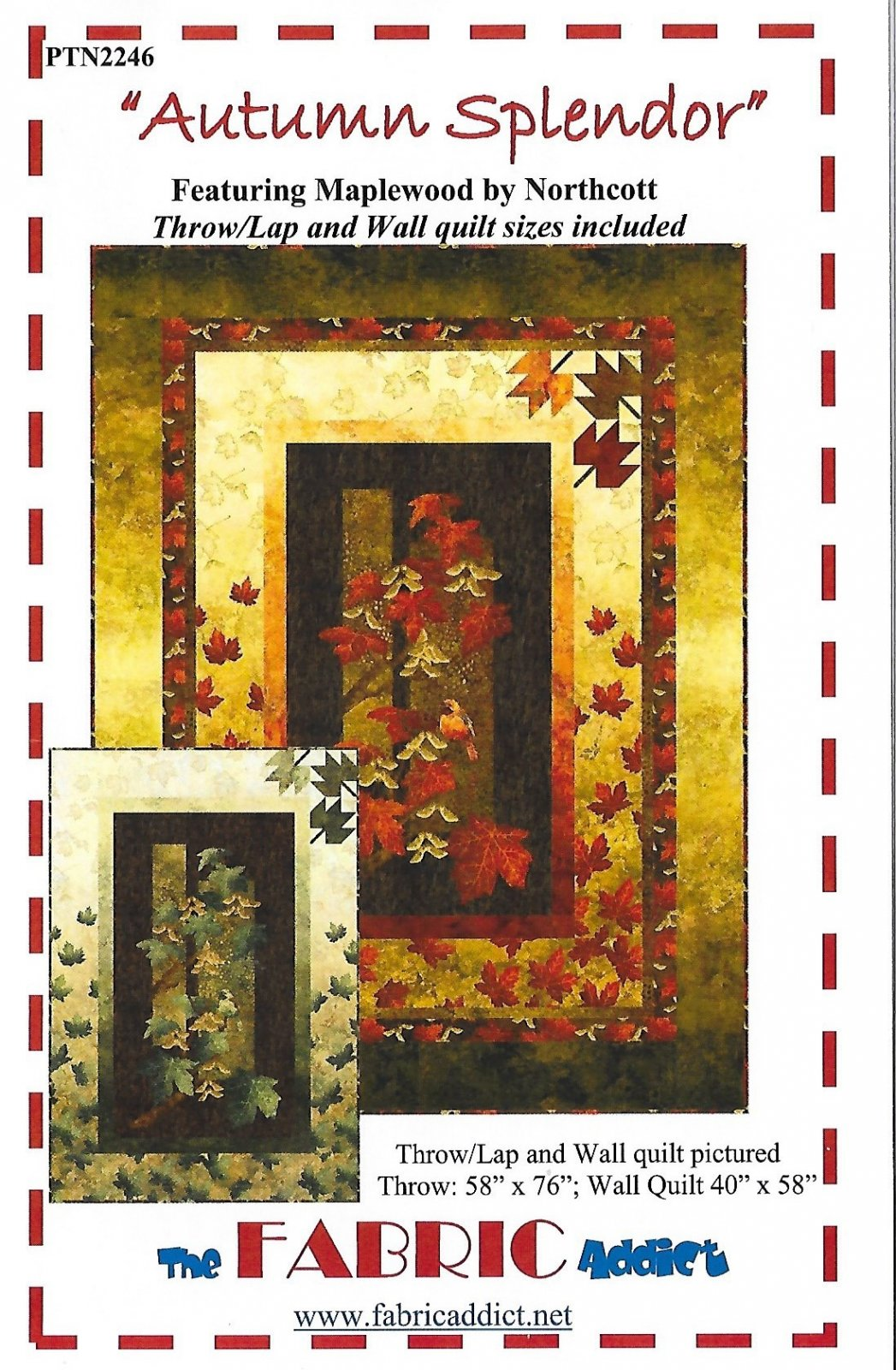 Autumn Splendid Wall Quilt