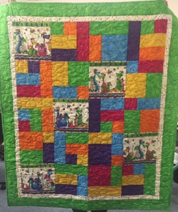 Dino Quilt kit on SALE