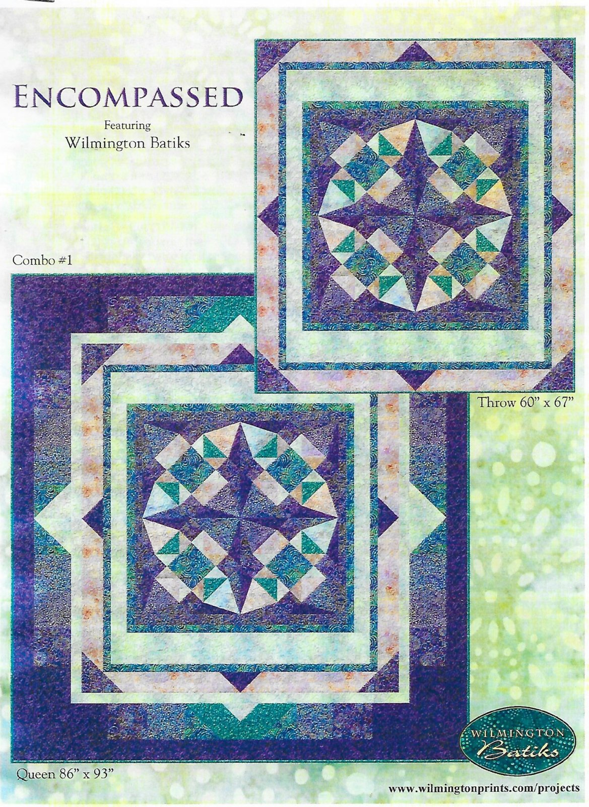 Encompassed Batik Quilt Kit