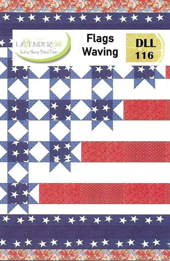 Flags Waving  Lap Quilt