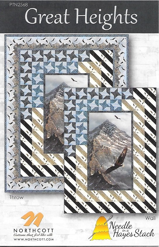 Great Heights Wall or Twin Sized quilt