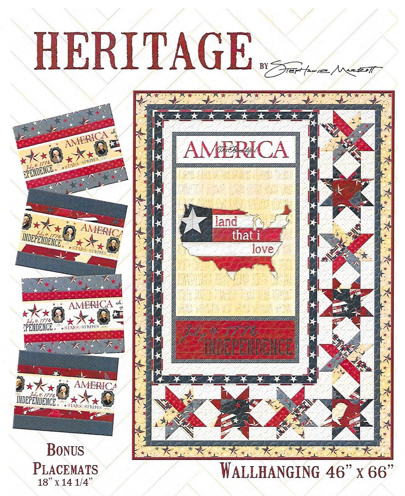 Heritage lap quilt kit
