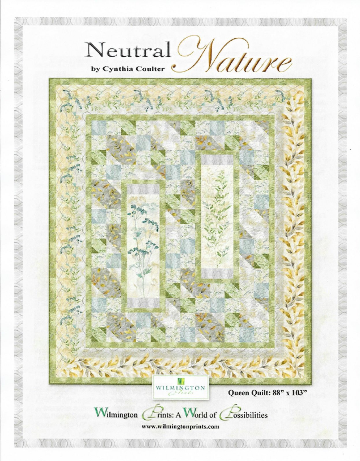 Neutral Nature Quilt