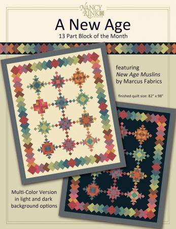 SALE-- New Age Quilt Kit