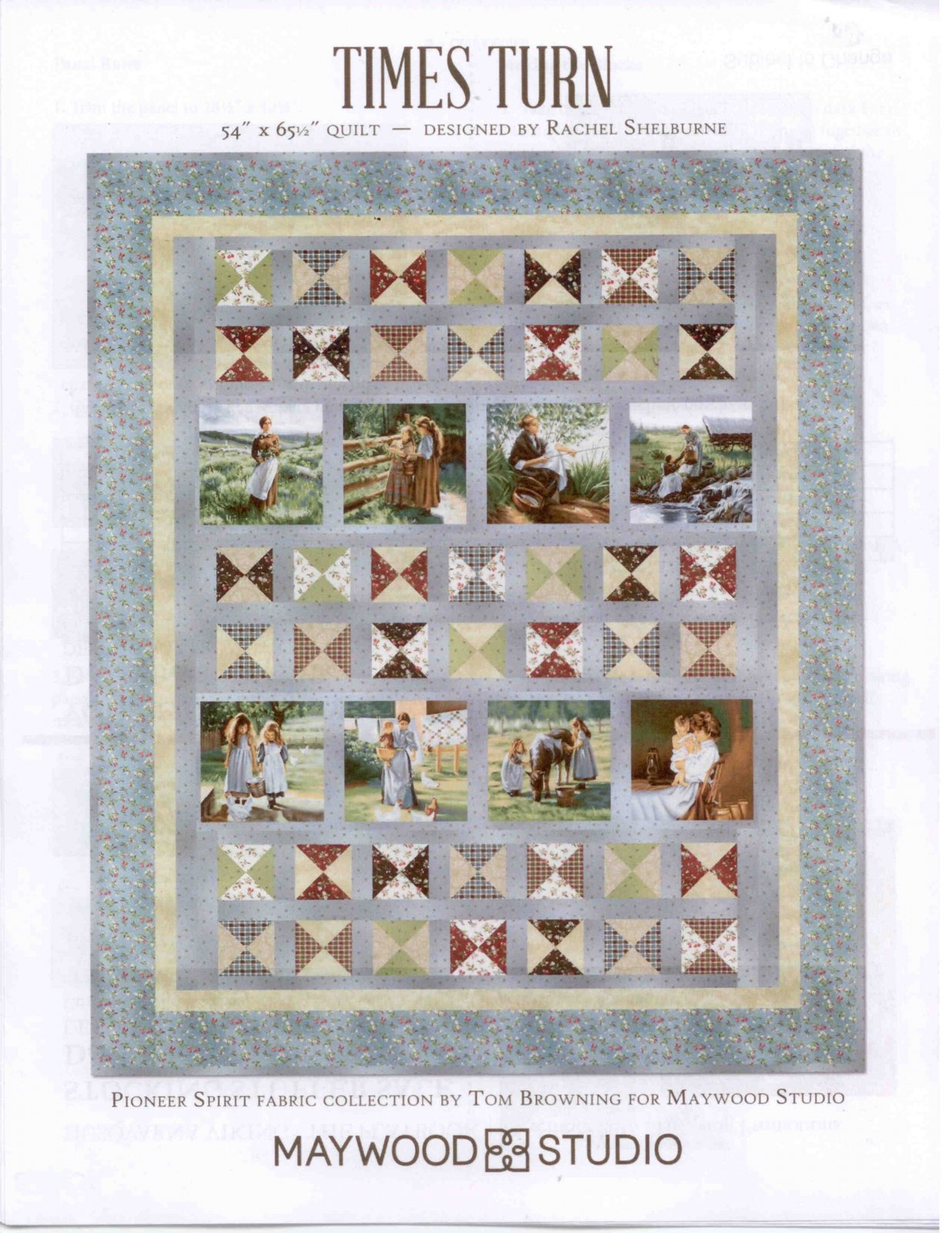 Times Turn Quilt Kit