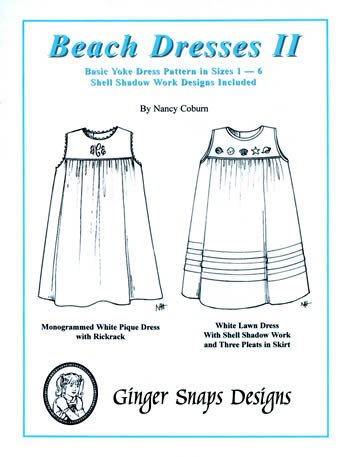 Beach Dresses II - Basic Yoke Dress - Ginger Snaps Designs