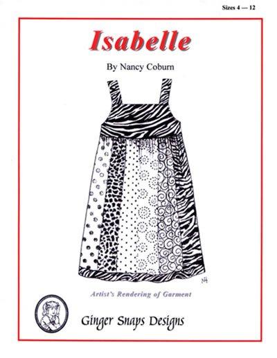 Isabelle - Ginger Snaps Designs