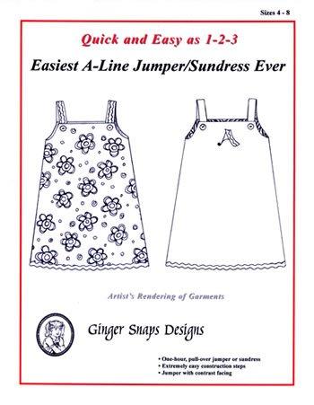 Easiest A-Line Jumper Ever - Ginger Snaps Designs