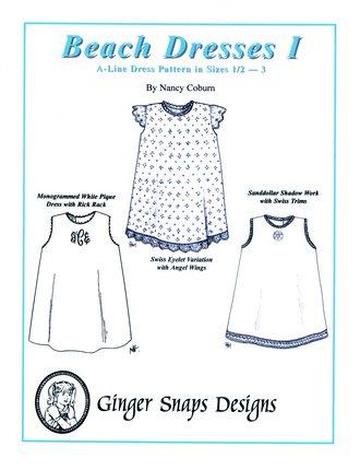 Beach Dresses I - A-Line Dresses - Ginger Snaps Designs